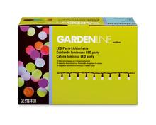 Steffen Gardenline LED-Lichterkette, 25 Dekorationslampen