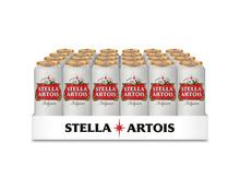 Stella Artois Bier, Dosen, 24 x 50 cl
