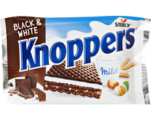 Storck Knoppers Limited Edition Black & White