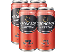 Strongbow Apple Cider Red Berries