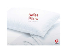 Swiss Pillow Soft Kissen Ente, by billerbeck, div. Grössen