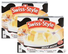 Swiss-Style Fondue-Moitié-Moitié oder -Tradition im Duo-Pack