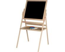 Tafel mit Whiteboard aus Holz