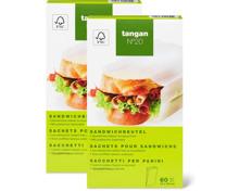 Tangan N° 20 Sandwichbeutel im Duo-Pack