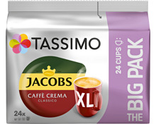 Tassimo Kaffeekapseln Jacobs Crema Classico XL