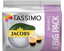Tassimo Kaffeekapseln Jacobs Espresso Ristretto