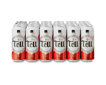 Tell Bier, Dosen, 24 x 50 cl