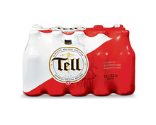 Tell Lagerbier, 15 x 33 cl