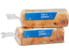 TerraSuisse M-Classic Toast & Sandwich hell, Duo-Pack