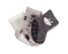 Texstar Baby ABS-Socken Girls oder Boys, in diversen Farben und Motiven, Grössen 62/68–98/104, Trio