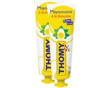 Thomy-Mayonnaise, -Thomynaise und -Senf mild im Duo-Pack
