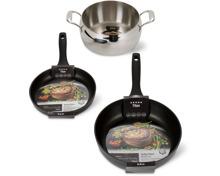 Titan- und Deluxe-Kochgeschirr-Serie der Marke Cucina & Tavola