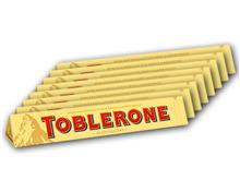 TOBLERONE Schweizer Milchschokolade