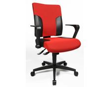 Topstar 2Colour 10 Bürostuhl, rot/schwarz