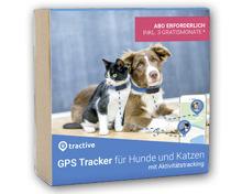 TRACTIVE GPS-Tracker für Hunde und Katzen