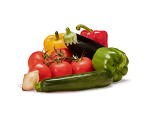 Tragtasche füllen mit folgendem Gemüse