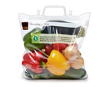 Tragtasche zum Selberfüllen mit folgendem Gemüse