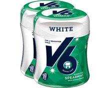 V6 Kaugummi Bottle White Spearmint