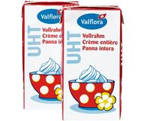 Valflora Vollrahm UHT im Duo-Pack, Duo-Pack