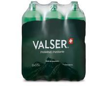 Valser Prickelnd, 6 x 1,5 Liter