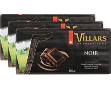 Villars Tafelschokolade Dunkel