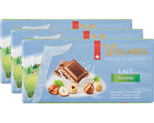 Villars Tafelschokolade Milch Haselnuss