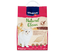 Vitakraft Natural Clean Pflanzenfaserstreu, 8 Liter