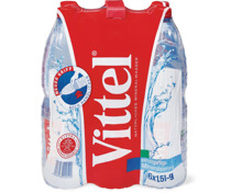 Vittel im 6er-Pack, 6 x 1.5 Liter und 6 x 500 ml