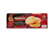 Walkers Pure Butter Shortbread Highlanders, 3 x 200 g, Trio