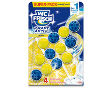 WC Frisch Kraft Aktiv Lemon, 3 x 50 g, Multipack