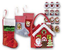 Weihnachtliches Filzsortiment