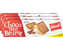 Wernli Biscuits Choco Petit Beurre Milch