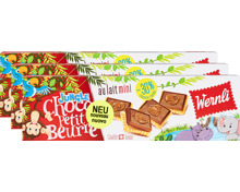 Wernli Biscuits Choco Petit Beurre mini Jungle