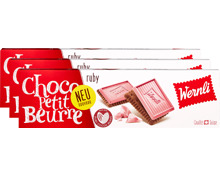 Wernli Biscuits Choco Petit Beurre Ruby
