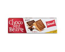 Wernli Choco Petit Beurre assortiert, 4 x 125 g, Multipack