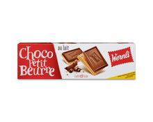 Wernli Choco Petit Beurre au Lait, 4 x 125 g, Multipack
