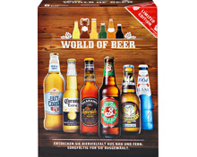 World of Beer Selection