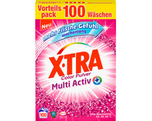X-Tra Waschpulver Multi Activ Color