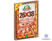 XXL Holzofen-Pizza