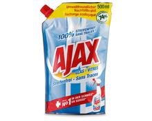 Z.B. Ajax Glasreiniger Streifenfrei, Nachfüllbeutel, 500 ml 3.25 statt 4.10
