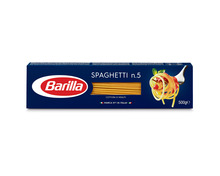 Z.B. Barilla Spaghetti n. 5, 500 g<br /> 1.45 statt 2.10