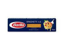 Z.B. Barilla Spaghetti n. 5, 500 g 1.45 statt 2.10