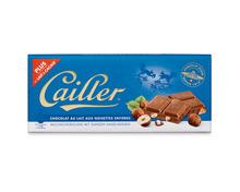 Z.B. Cailler Tafelschokolade Milch-Nuss, 3 x 100 g, Trio<br /> 4.60 statt 6.90