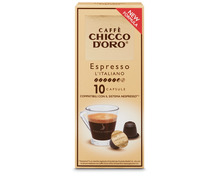 Z.B. Chicco d'Oro Espresso Italiano, 10 Kapseln