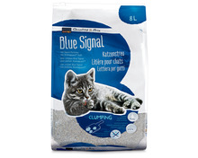 Z.B. Coop Blue Signal Katzenstreu, klumpend, 8 Liter 6.20 statt 7.80