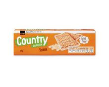 Z.B. Coop Country Cracker Sesam, Stange, 295 g 2.60 statt 3.30