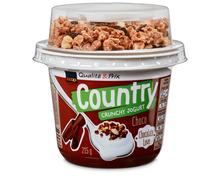 Z.B. Coop Country Crunchy Jogurt Choco-Müesli, 215 g 1.15 statt 1.70