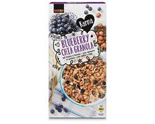 Z.B. Coop Karma Blueberry Chia Granola, 450 g 5.10 statt 6.40