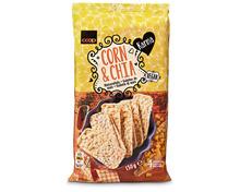Z.B. Coop Karma Maiswaffeln Corn & Chia, 130 g 1.55 statt 1.95