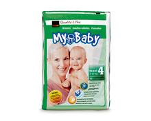 Z.B. Coop My Baby Maxi, Grösse 4, 3 x 48 Stück<br /> 25.90 statt 38.85